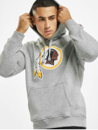New Era Sweat capuche Team Logo Washington Redskins gris