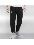 New Era Sweat Pant Team Apparel French Terry Oakland Raiders black