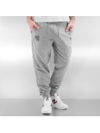New Era Sweat Pant Team Apparel French Terry NY Yankees gray