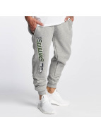 New Era Sweat Pant Team Wordmark Seattle Seahawks Tracker grey
