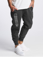 New Era Sweat Pant Team Wordmark Oakland Raiders Tracker grey