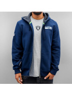 New Era Sweatvest NFL Full Seattle Seahawks blauw