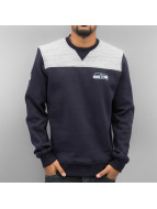 New Era Swetry Remix II Seattle Seahawks niebieski