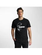 New Era T-paidat NFL Headshot Oakland Raiders musta