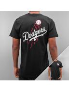 New Era T-Shirt MLB Pop BK Script LA Dodgers black