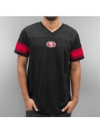 New Era T-Shirt Team Apparel Supporters San Francisco 49ers black
