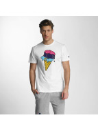 New Era T-Shirt Ice Cream blanc