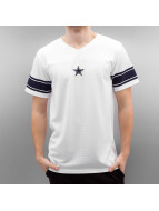 New Era T-Shirt Team Apparel Supporters Dallas Cowboys blanc