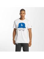 New Era T-Shirt MLB Cap And Shades LA Dodgers blanc
