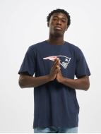 New Era T-Shirt Team Logo New England Patriots blau