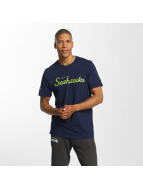 New Era T-Shirt Seattle Seahawks blau