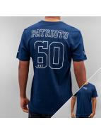New Era t-shirt Supporters New England Patriots blauw