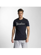 New Era t-shirt Team App NY Yankees Classic blauw