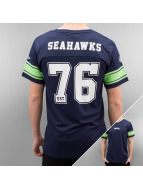 New Era T-Shirt Team Apparel Supporters Seattle Seahawks blue