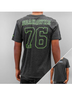 New Era T-Shirt Supporters Seattle Seahawks grau