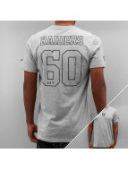 New Era T-Shirt Supporters Oakland Raiders grau