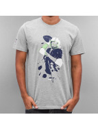 New Era T-Shirt NFL Quarterback Splash Seattle Seahawks grau