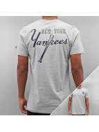 New Era T-Shirt MLB Pop BK Script NY Yankees grau