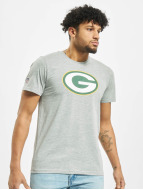 New Era T-Shirt Team Logo Green Bay Packers grau