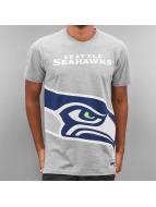 New Era t-shirt NFL Big Logo Seattle Seahawks grijs