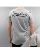 New Era t-shirt Team Apparel NY Yankees grijs