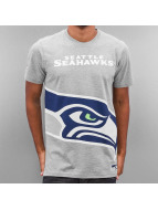 New Era T-Shirt NFL Big Logo Seattle Seahawks gris