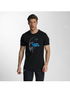 New Era T-Shirt NFL Headshot Carolina Panthers noir