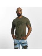 New Era t-shirt NFL Camo Atlanta Falcons olijfgroen