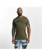 New Era T-Shirt NFL Camo Seattle Seahawks olive