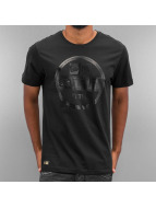 New Era T-Shirt Crafted Visor schwarz