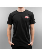New Era T-Shirt Team Apparel San Francisco 49ers schwarz