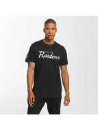 New Era T-Shirt Oakland Raiders schwarz
