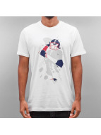 New Era T-Shirt NFL Quarterback Splash New England Patriots weiß