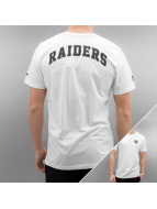 New Era T-Shirt Team Apparel Oakland Raiders weiß