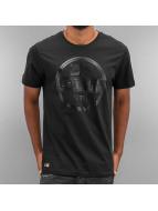 New Era t-shirt Crafted Visor zwart