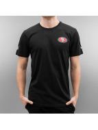 New Era t-shirt Team Apparel San Francisco 49ers zwart