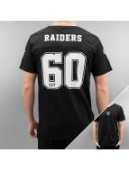 New Era t-shirt Team Apparel Supporters Oakland Raiders zwart