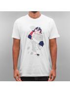 New Era T-Shirts NFL Quarterback Splash New England Patriots beyaz