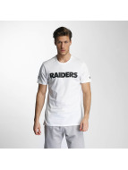 New Era T-Shirty Team App Oakland Raiders Classic bialy