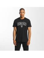New Era T-Shirty NFL Ultra Fan Oakland Raiders czarny