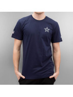 New Era T-Shirty Team Apparel niebieski