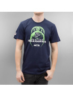 New Era T-Shirty NFL Cap Classic Seattle Seahawks niebieski