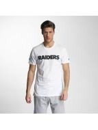 New Era T-skjorter Team App Oakland Raiders Classic hvit
