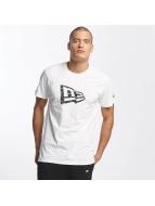 New Era T-skjorter Originators Flag hvit