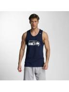 New Era Tank Tops Team App Seattle Seahawks Logo blue