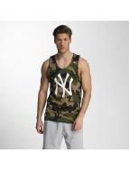 New Era Tank Tops Team App NY Yankees Logo camouflage