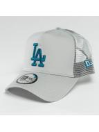 New Era Trucker League Essential LA Dodgers šedá