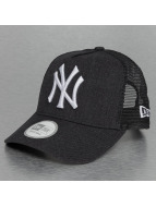 New Era Trucker Heather Team NY Yankees bleu