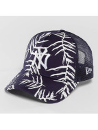 New Era Trucker Sandwash Print NY Yankees bleu