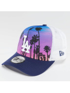 New Era Trucker West Coast Print LA Dodgers bleu